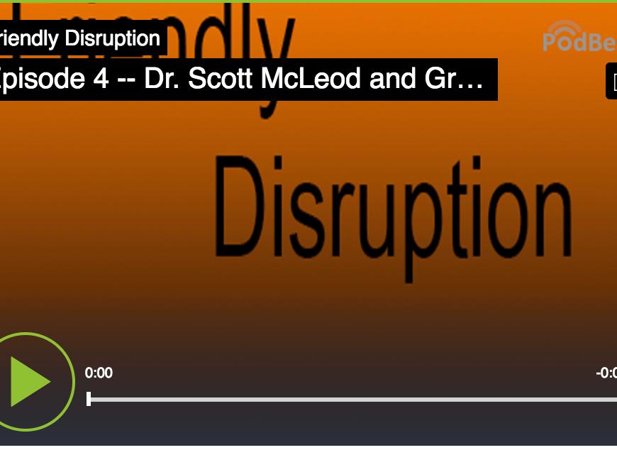 Friendly Disruption episode 4 logo