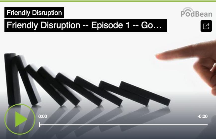 Friendly Disruption episode 1 logo